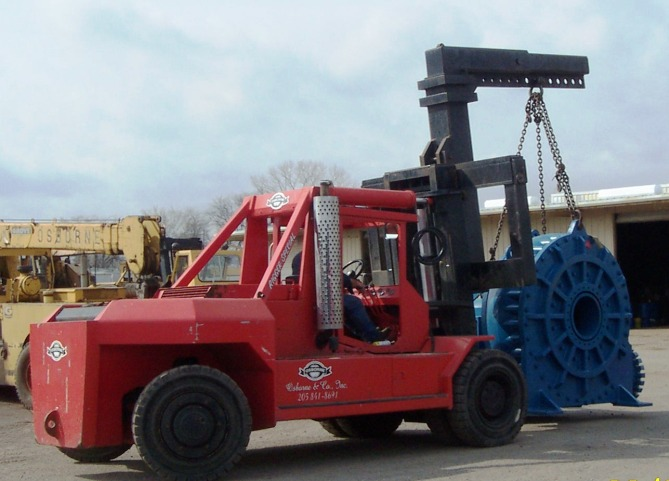 Osborne Machinery Movers - machinery moving, rigging, plant relocation